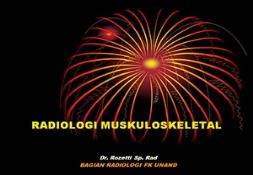 Radiologi Muskuloskeletal PowerPoint Presentation