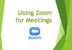 Using Zoom for Meetings PowerPoint Presentation