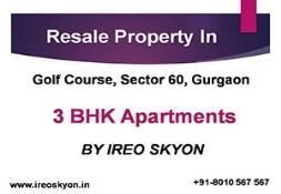 3 BHK Resale Ireo Skyon Apartment PowerPoint Presentation