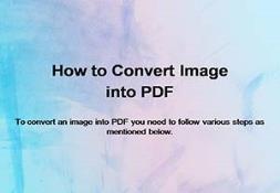 Image to pdf converter PowerPoint Presentation