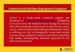 Commercial kitchen equipment PowerPoint Presentation