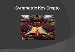 Symmetric Key Crypto PowerPoint Presentation
