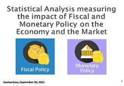 Impact of Fiscal and Monetary Policy  on the Economy and the Market PowerPoint Presentation
