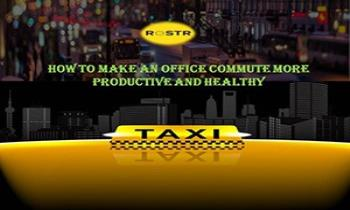 How to Make an Office Commute More Productive And Healthy | Rostr Ppt Presentation