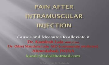 Pain and IM injection Ppt Presentation