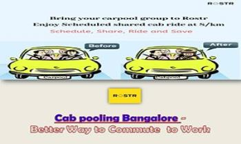 Cab pooling Bangalore – Better Way to Commute to Work Ppt Presentation