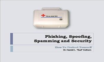 Phishing Spoofing Spamming Security Ppt Presentation