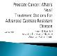 Prostate Cancer Diagnosis and Treatment Powerpoint Presentation