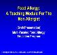 Food Allergy-A Teaching Module Powerpoint Presentation