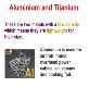 aluminium and titanium World of Teaching Powerpoint Presentation