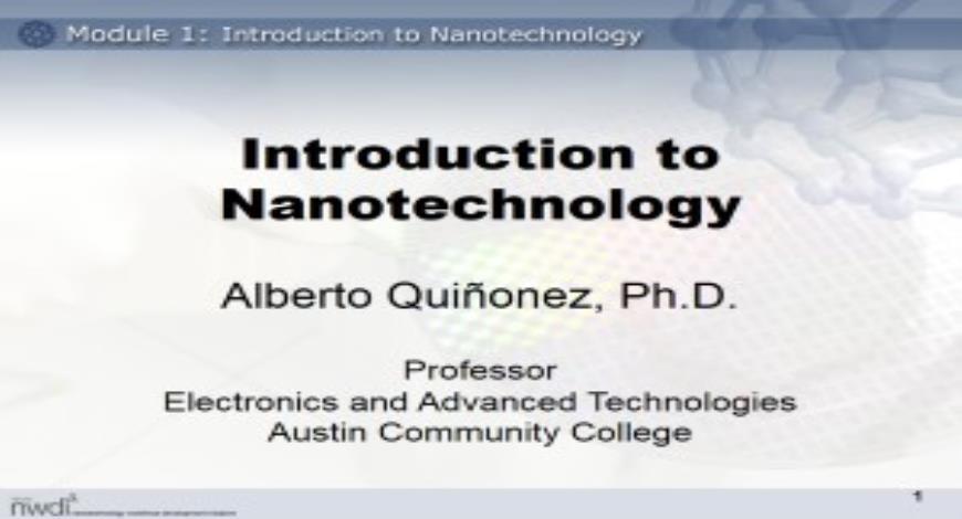 Free Download Introduction to Nanotechnology PowerPoint