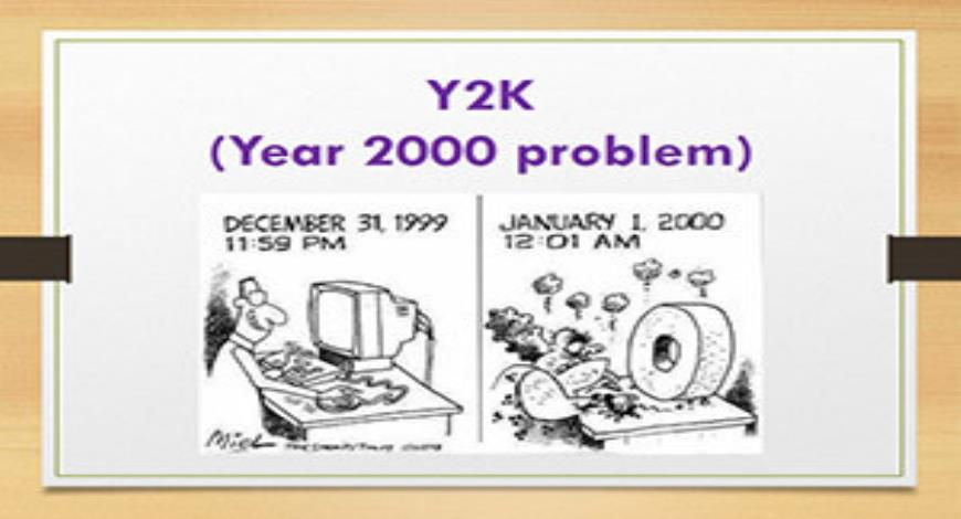 possible effects and solutions for the y2k issue Y2k bug and the media aware of the possible crisis that might happen even earlier but to invest in many of the new solutions at some point anyway.