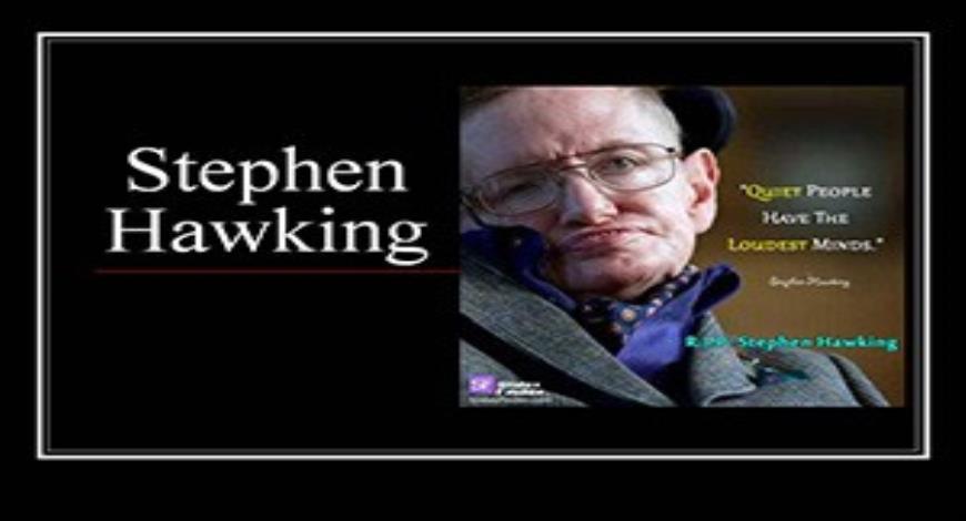 Stephen hawking power point presentation.