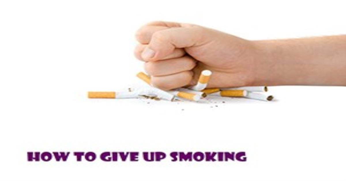 how to give up smoking Smoking tobacco products can lead to severe health problems and even death while quitting smoking can be very difficult for some smokers, there are smoking cessation programs and medications that can help smokers quit there are many lifelong benefits of doing so, like increased lung function and decreased risk of heart disease and cancer.
